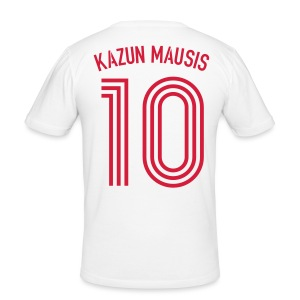 KAZUN MAUSIS 10 (Away) - Männer Slim Fit T-Shirt