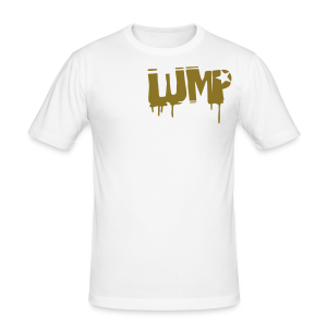 LUMP (GOLD) - Männer Slim Fit T-Shirt