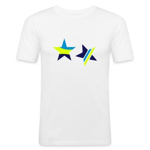 Stars - T-shirt près du corps Homme