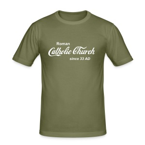 Catholic Church camel - Männer Slim Fit T-Shirt