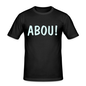 Abou Svart - Slim Fit T-shirt herr