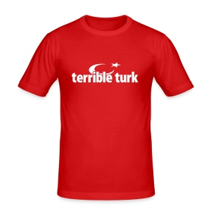 terrible turk - Männer Slim Fit T-Shirt