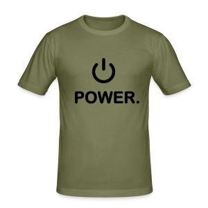 'Power' - slim fit T-shirt