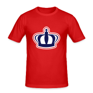 T-shirts ~ slim fit T-shirt ~ Koninginnedag Kroon T-shirt