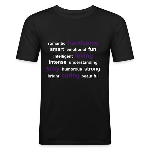 #21 - Slim Fit T-skjorte for menn