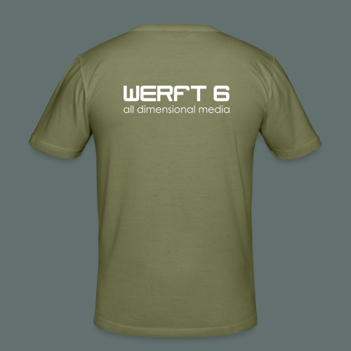 WERFT 6 T-Shirt men olive - Männer Slim Fit T-Shirt