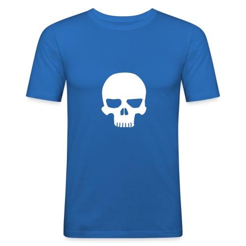 CFF Skull T-Shirt - Men's Slim Fit T-Shirt
