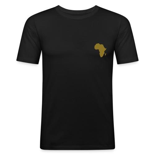afrique  - T-shirt près du corps Homme