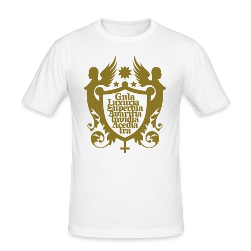 The seven deadly Sins - Männer Slim Fit T-Shirt