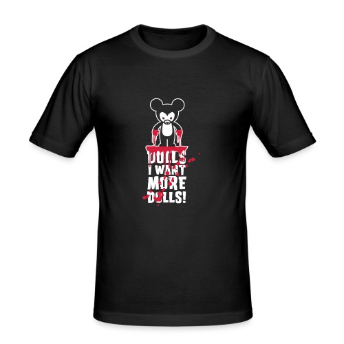 Toz Teddy killer - T-shirt près du corps Homme