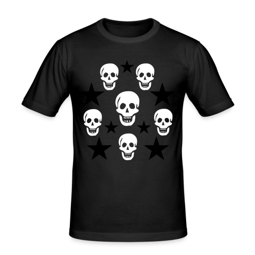 Skull day - Men's Slim Fit T-Shirt