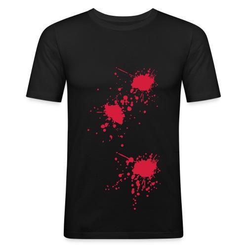 T-shirt sang - T-shirt près du corps Homme