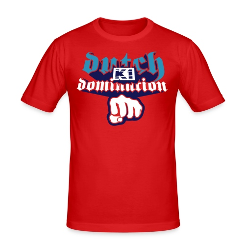 Dutch Domination (Orange, SlimFit) - slim fit T-shirt