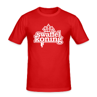 T-shirts ~ slim fit T-shirt ~ SwaffelKoning (seen @ Spuiten & Slikken BNN)