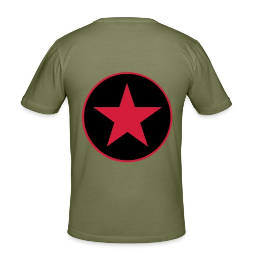Blike - Camiseta ajustada hombre