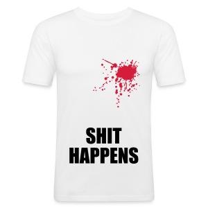 la Main white shit - slim fit T-shirt