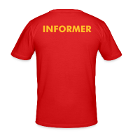T-Shirts ~ Men's Slim Fit T-Shirt ~ Informer