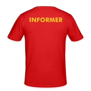 Informer - Men's Slim Fit T-Shirt