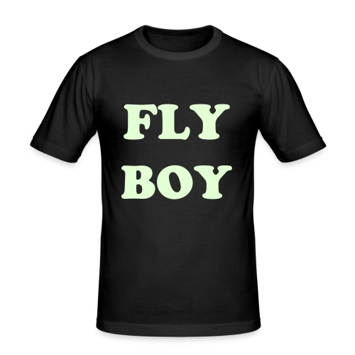 FLY GIRL T SHIRT - Men's Slim Fit T-Shirt