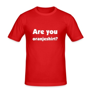 Are you oranjeshirt? - slim fit T-shirt