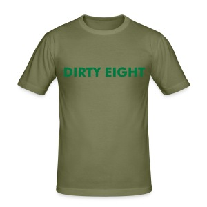 DIRTY EIGHT - Slim Fit T-shirt herr