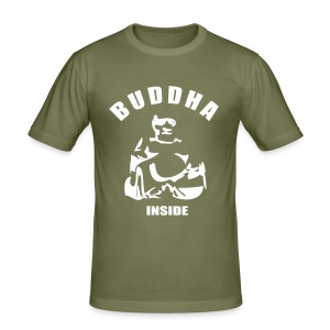 Buddha inside (Men) - Männer Slim Fit T-Shirt