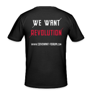 T-Shirts ~ Männer Slim Fit T-Shirt ~ We Want 1