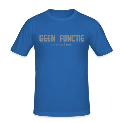 Slim Fit 'geen functie' - slim fit T-shirt