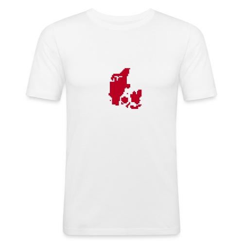 Astronaut Weis - Männer Slim Fit T-Shirt