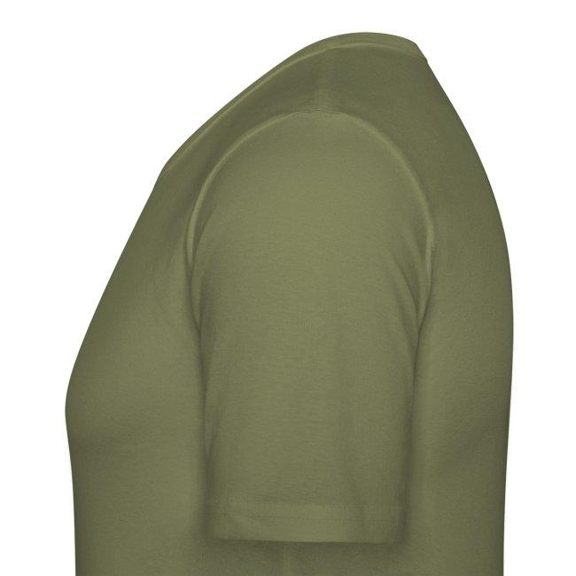 Leibchen H tailliert Druck sandfarben