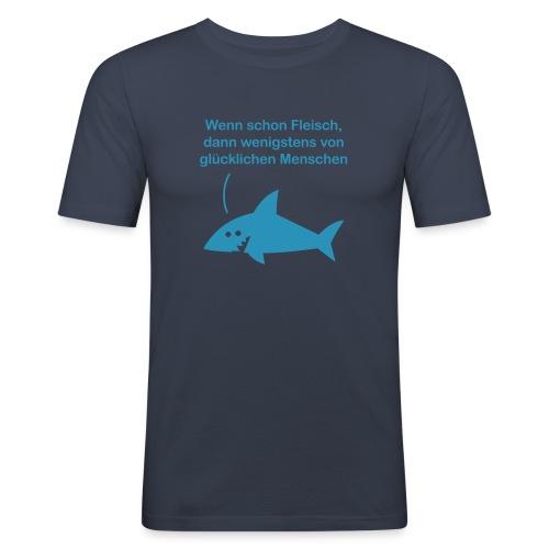 Fleisch - Männer Slim Fit T-Shirt