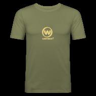 T-Shirts ~ Men's Slim Fit T-Shirt ~ Wannasurf Slim Fit