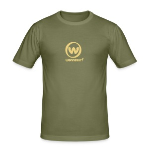 Wannasurf Slim Fit - Men's Slim Fit T-Shirt