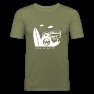 T-Shirts ~ Men's Slim Fit T-Shirt ~ UFO - Slim Fit