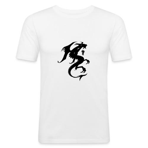 mon o  hr - T-shirt près du corps Homme