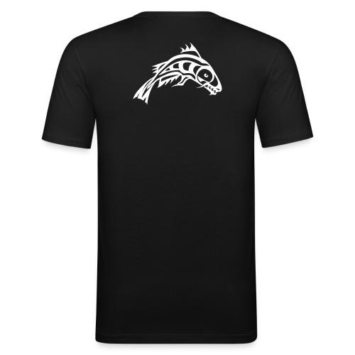 Wetfishers slimFit svart herr - Slim Fit T-shirt herr