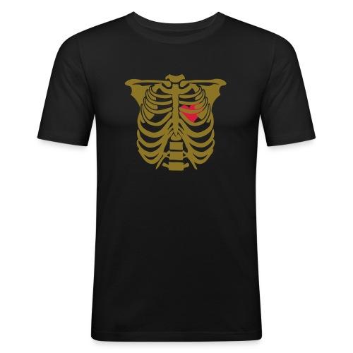 SQUELETTE - T-shirt près du corps Homme