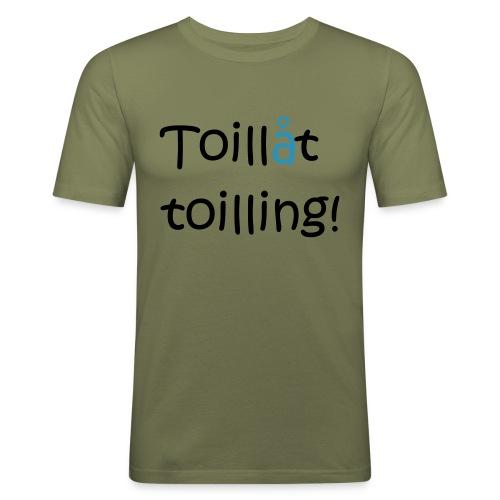 Toilling - Slim Fit T-skjorte for menn