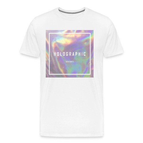HOLOGRAPHIC AR tee - Men's Premium T-Shirt