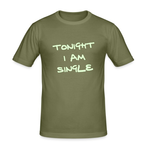 Single Tonight Camel Slim Fit - Men's Slim Fit T-Shirt