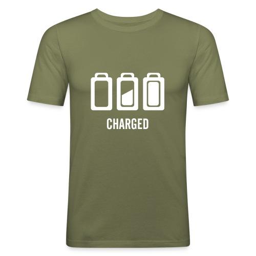 charged - T-shirt près du corps Homme