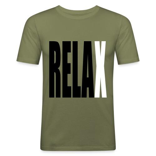 Relax - T-shirt près du corps Homme