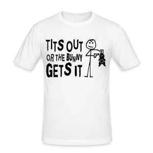 Humour shirt - Men's Slim Fit T-Shirt