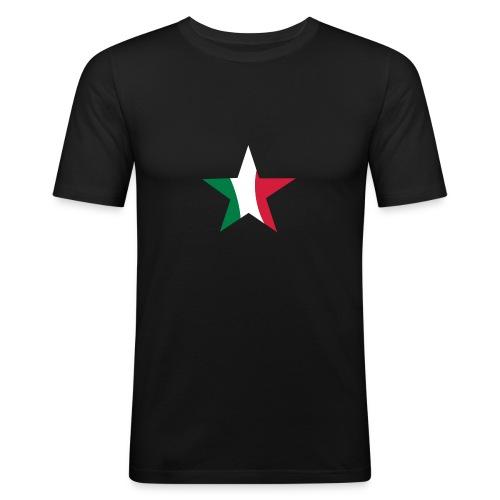 stella italia - Maglietta aderente da uomo