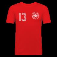 T-Shirts ~ Männer Slim Fit T-Shirt ~ D. Bakel 13 (Away)