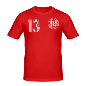 D. Bakel 13 (Away) - Männer Slim Fit T-Shirt