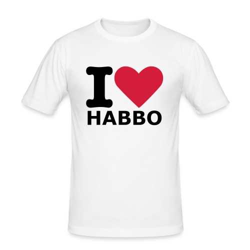 I Love Habbo - slim fit T-shirt