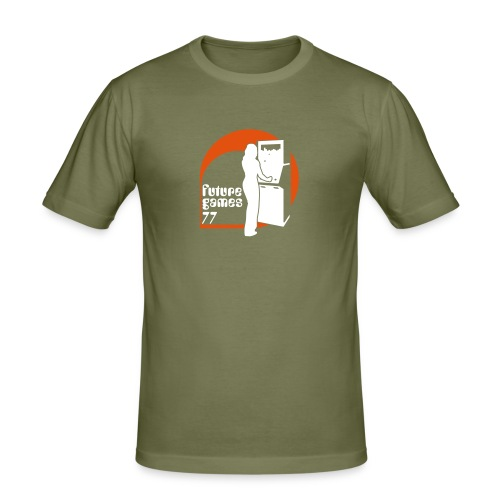 Arcade - Männer Slim Fit T-Shirt