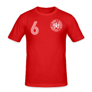 T-Shirts ~ Männer Slim Fit T-Shirt ~ DOPPEL 6 (Away)