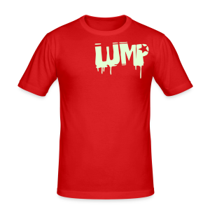 LUMP (Glow in the Dark) - Männer Slim Fit T-Shirt